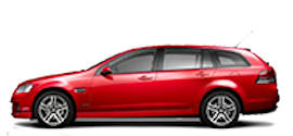 Avis Holden Station Wagon Rental