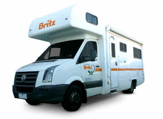Britz 6 Berth Motorhome Hire in Australia