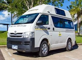 Camperman Australia 3 berth Motorhome Hire in Australia