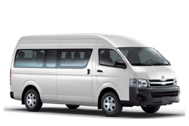 Europcar Toyota Commuter Bus Hire