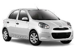 Europcar Nissan Micra 5 Door Car Rental