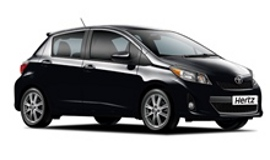 Hertz Toyota Yaris Car Hire