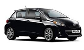 Hertz Toyota Yaris Car Hire