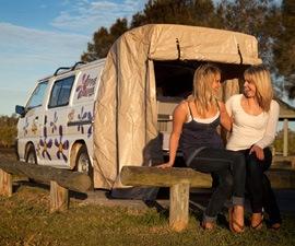 hippie budget campervan hire in australia hippie motorhome fleet. Black Bedroom Furniture Sets. Home Design Ideas