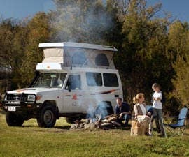 compare 4 wheel drive campervan hire in australia with. Black Bedroom Furniture Sets. Home Design Ideas