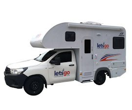 Let's Go Motorhomes - 2 Berth Campervan Hire