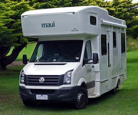 Oasis Maui Motorhome Rental